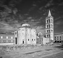 Zadar b&w V by Ivan Coric