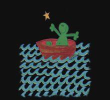 One Boat Each... (t-shirt / sticker) by Sammy Nuttall