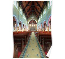 The Cathedral Church of Saints Mary & Joseph • Armidale • New South Wales Poster