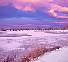 Frigid Winter Sunrise by Paul Gana