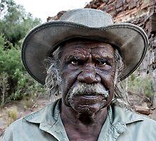 Aboriginal Elder by Bob Hayter