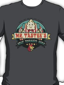 Mr. Tastee's Blue Tornado Bars T-Shirt