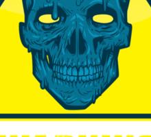 Warning - Trioxin Sticker