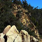 Cliffs at Boydtown, NSW, Australia by brozekcordier