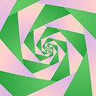 Spiral with Four Arms by Objowl