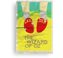 Wizard Of Oz - Saul Bass Inspired Poster Canvas Print