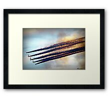 Those Daring Young Men In Their Flying Machines.. Framed Print