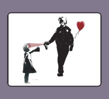 Pepper Spray Cop Bansky by BUB THE ZOMBIE