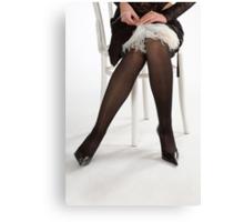 Glamour legs 8 Canvas Print