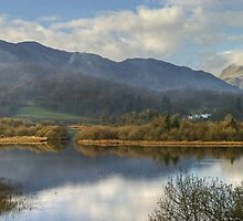 Elterwater and Lingmoor Fell by VoluntaryRanger