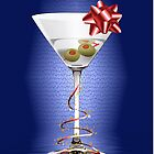 Christmas Martini iphone case by imagetj