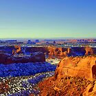 Snowy Canyonlands by Eric  Neitzel