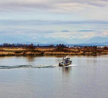 Sunday Afternoon on the Fraser River by Brenda Boisvert