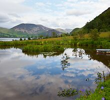 Cloud Pond Near Ennerdale, Cumbria by Jan Fialkowski