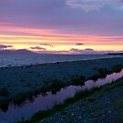The Purple Stream at Allonby by Jan Fialkowski
