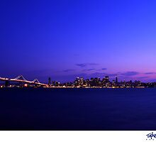 San Francisco Skyline from Treasure Island by Topher Gentry