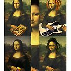 MONA LISA CASE  by karmadesigner