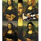 MONA LISA CASE  by karmadesigner