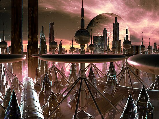 New Sagittarius City by SpinningAngel
