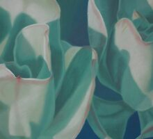 Plant Study - Succulent 2 by Deb Fedeler