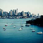 Sydney cityscape IV by Kimmo Savolainen