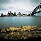 Sydney cityscape VII by Kimmo Savolainen