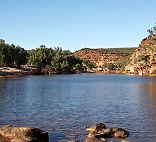 Murchison River ~ Kalbarri National Park by Robert Elliott