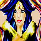 Comic Book Beauty Portraits 2 by Seleus Blelis by loflor73
