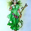 saraswati by biswaal
