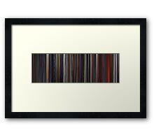 Moviebarcode: Star Wars: Episode III - Revenge of the Sith (2005) Framed Print
