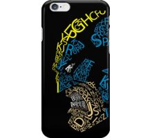 Wolverine Typography  iPhone Case/Skin