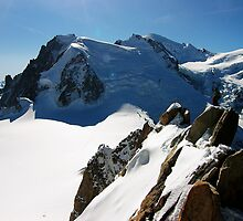 Mont Blanc by Michiko Lawrence