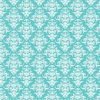 TIFFANY BLUE - DAMASK by MadNic