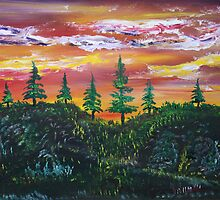 Twilight Beckons by James Bryron Love