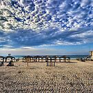 a good morning from the beach, Tel Aviv by Ronsho