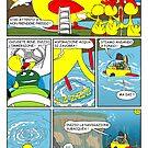 "Rick the chick  ""THE MAGIC SHELL (La partenza) parte 32"" by CLAUDIO COSTA"