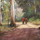 Forest Walk by Lyn Green