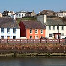 Maryport Harbour Houses by Jan Fialkowski