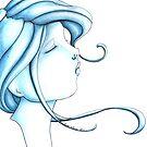 Cameo Blue by ninamarie