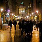 """Views: 1081.★★★★★. Florianska Street . Kraków. Poland . by Andrzej Goszcz.   Dziękuję ! Alles Liebe und Gute Dank ! Toda raba ! Thx! Featured  """"5DMark!"""" II & in  Eastern European Art"""" by © Andrzej Goszcz,M.D. Ph.D"""