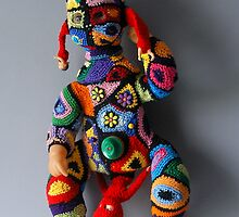 Muzzled doll  by Birobent Martine