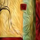 Abstract Colors Oil Painting #9 by Fred Seghetti