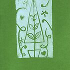 Amity Slockee&#x27;s &#x27;Green Christmas Tree&#x27; by Art 4 ME
