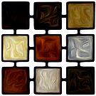 Abstract Squares Oil Painting #2 by Fred Seghetti