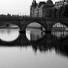 Pont Neuf Bridge, Paris by Barbara Gray