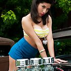 Pin Up Over 3 Deuces by trussphoto