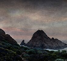Texture of Sugarloaf Rock by Ben Reynolds