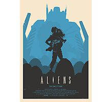 Aliens (1986) Custom Poster Photographic Print