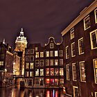 Canal in Amsterdam by pahas
