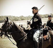 The Civil War Reenactor-1107 by Michael Byerley